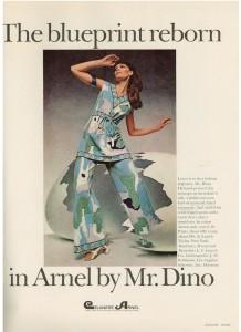 Mr. Dino pantsuit 1969
