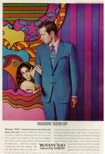 Botany 500 suit ad 1969