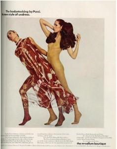 Pucci bodystocking ad 1969