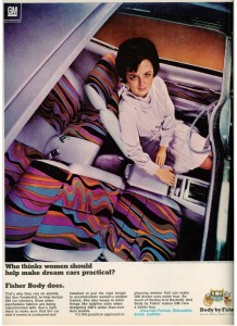 GM Body by Fisher 1969 ad