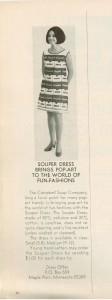 Souper Dress ad 1969 Campbell's Soup