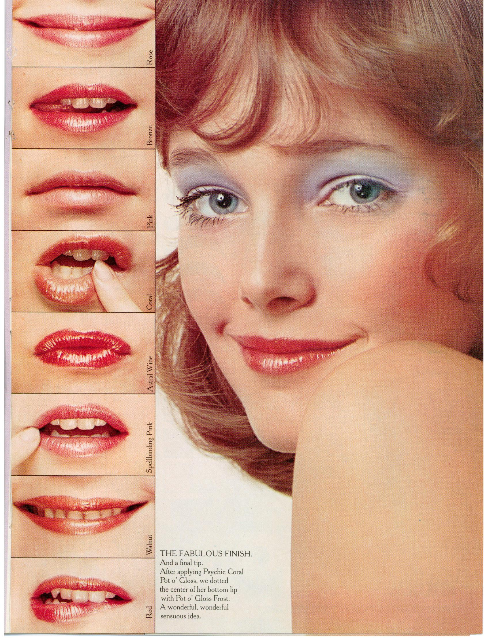 S Makeup: Musings From Marilyn » Yardley's Crash Course In Makeup 1972