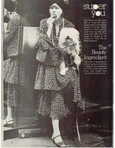 Betsey Johnson Alley Cat fashions 1973