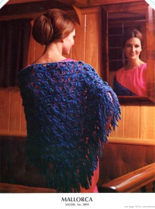 Vintage Mallorca Shawl crochet pattern