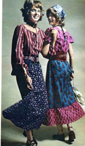 Vintage 1970 Boho Festival look