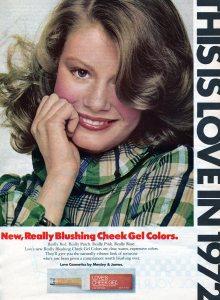 Love Cosmetics Blushing Cheek Gel Vintage 1972