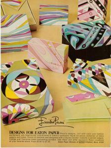Emilio Pucci vintage 1972 ad Eaton Paper