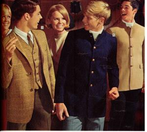 Teen Nehru Jacket 1968 Sears Wish Book