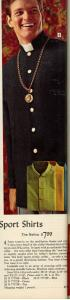 Nehru Shirt Vintage 1968 Sears Wish Book