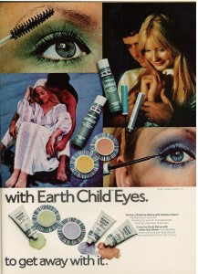 Yardley of London ad 1971 Earth Child Eyes