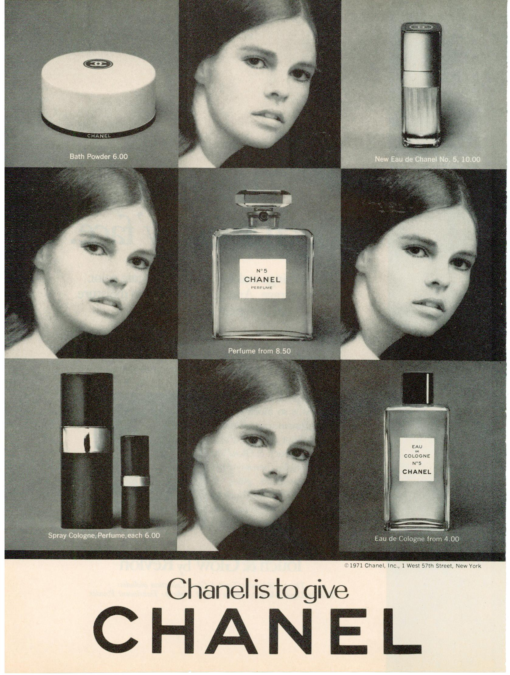 Musings From Marilyn 187 Ali Macgraw For Chanel No 5 And