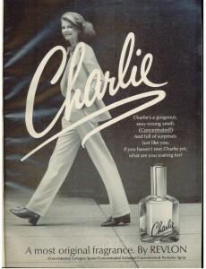Vintage 1973 Charlie perfume Revlon ad