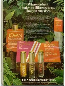 Vintage 1973 Jovan Musk Oil ad