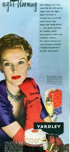 Yardley of London vintage 1945 40s ad