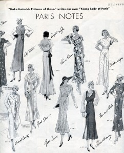 Paris Fashion Frocks of 1932 | Musings from Marilyn - Finnfemme Blog