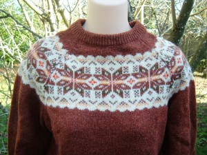 Finnfemme: My Vintage Scottish 'Outlander' Sweater