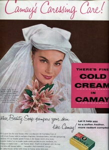 Finnfemme: Camay Beauty Soap for Brides, Vintage 1955