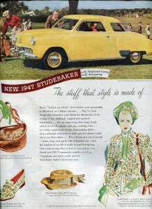 Finnfemme: Coordinate Fashions With Your 1947 Studebaker