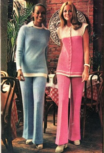 FINNFEMME: Those Vintage 70s Fluffy Angora Pant Suits
