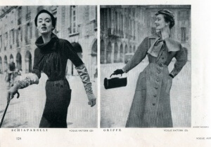 FINNFEMME: Those Exquisite 1953 Vogue Paris Original Designer Sewing Patterns - 2