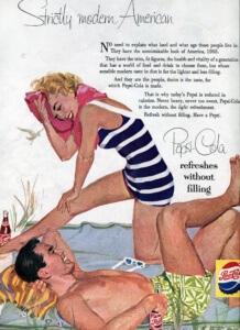 Vintage 1955 Pepsi-Cola | FINNFEMME