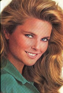 Christie Brinkley for Prell Shampoo, 1985 | Finnfemme Blog