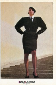 Vintage 80s Yves Saint Laurent~Rive Gauche Fashions | Finnfemme