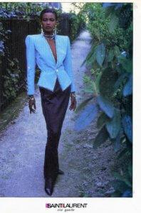 vintage 80s Yves Saint Laurent Rive Gauche Fashions | Finnfemme