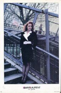 Vintage 80s Yves Saint Laurent Rive Gauche | Finnfemme