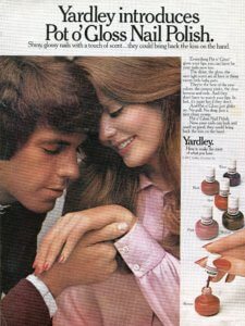 Yardley Pot o' Gloss Nail Polish, 1972 | Finnfemme