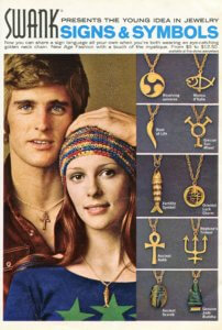 Swank Signs & Symbols Jewelry - vintage 1971 70s | Finnfemme