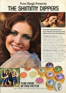 1971 Pure Magic Shimmy Dippers Eye & Lip Gloss - Finnfemme