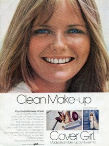 Cheryl Tiegs Cover Girl Clean Makeup 1971 - Finnfemme
