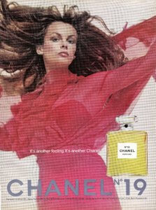Chanel No.19 Perfume ad - vintage 1974 | Finnfemme