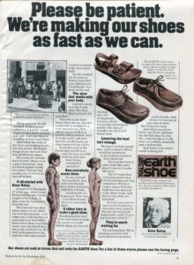Earth Shoes - Anna Kalso - vintage 1974   Finnfemme