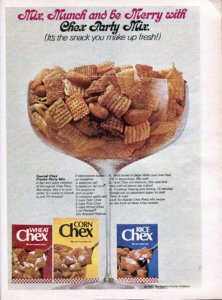 Original 1969 Chex Party Mix Recipe - Finnfemme