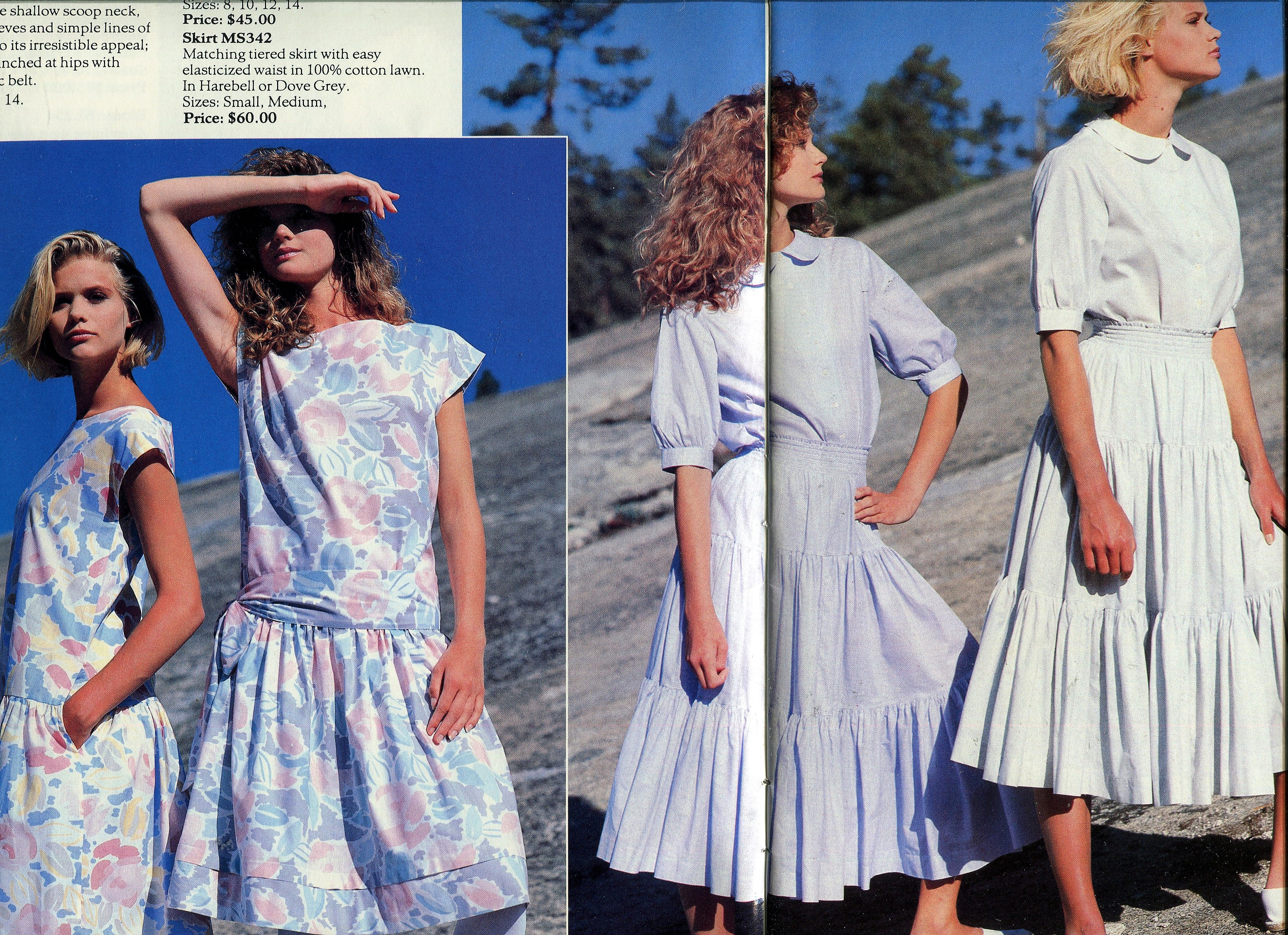 Musings From Marilyn Laura Ashley Vintage 1984 Primavera-2617